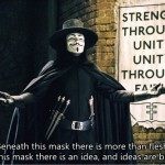 a collection about popular film V for Vendetta quotes